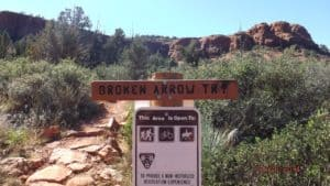 Broken Arrow Trail Sedona Hiking