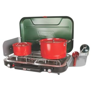 Coleman Eventemp 3 Burner Propane Stove Best camping stove