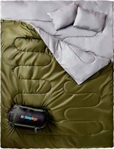 Sleepingo Best Double Sleeping Bag for Backpacking