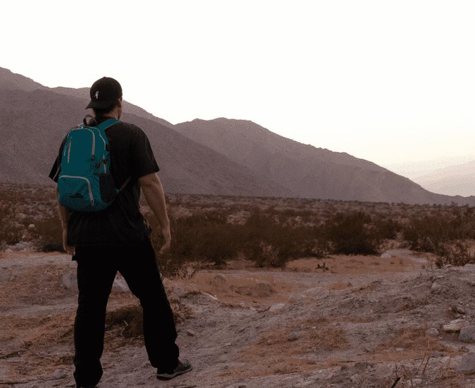 Backpack and Pocket Blanket