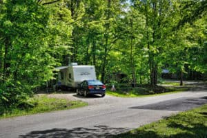 Alum Creek State Park - camping in Ohio