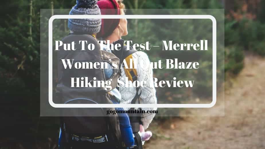 Merrell Women's All Out Blaze Aero Sport Hiking Water Shoe Review
