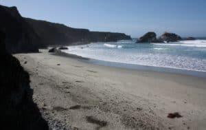 Big Sur Hiking Trails -Sand Dollar Beach