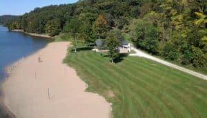 appan Lake - camping in Ohio