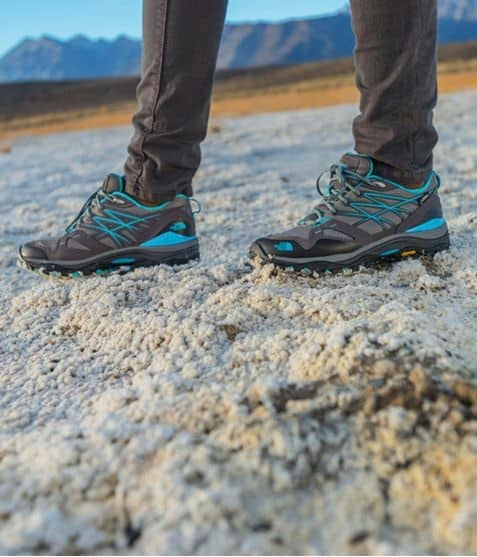 The North Face Women's Hedgehog Fastpack GTX Hiker Shoes wearing