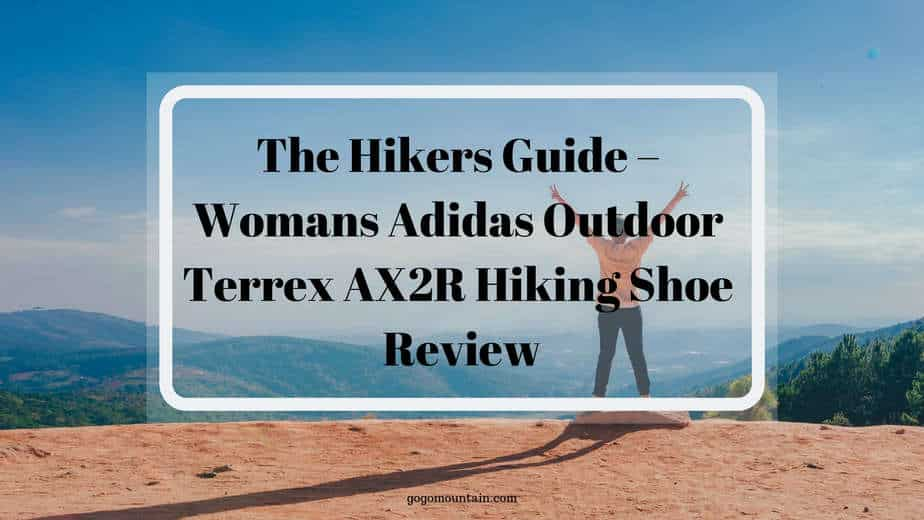 Womans Adidas Outdoor Terrex AX2R Hiking Shoe