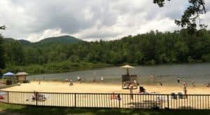 Camping in NC - Lake Powhatan Campground