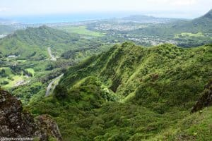 Oahu Hiking Spots - PALI NOTCHES