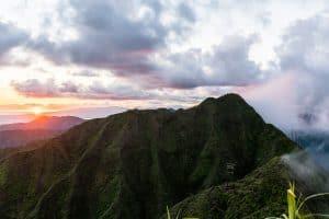 Oahu Hiking Spots - Wiliwilinui Ridge
