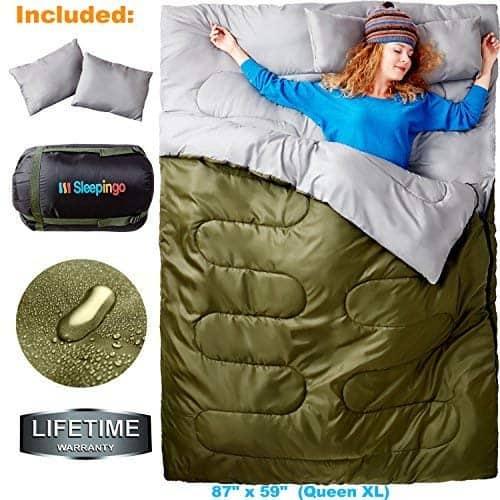 sleepingo double sleeping bag 1