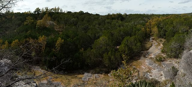 texas hiking spots Colorado Bend State Park