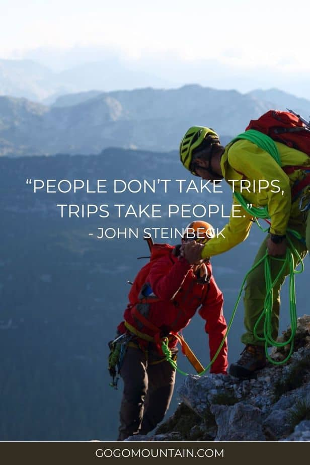 Hiking & Camping Quotes To Live by