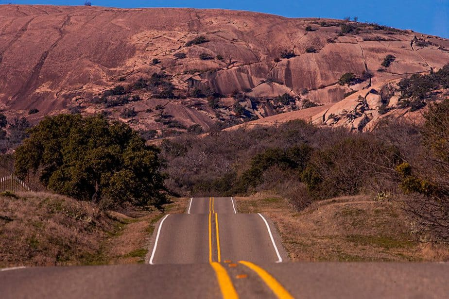Texas Hiking Spots Enchanted Rock