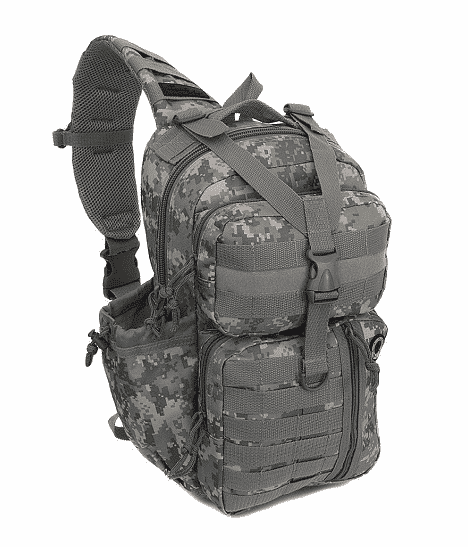 NPUSA Mens Tactical Gear Molle Sling Shoulder Backpack