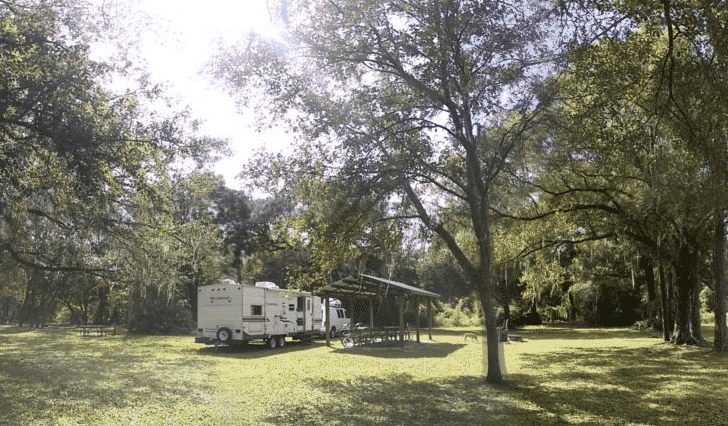 Camping in Florida - Cumpressco Campground