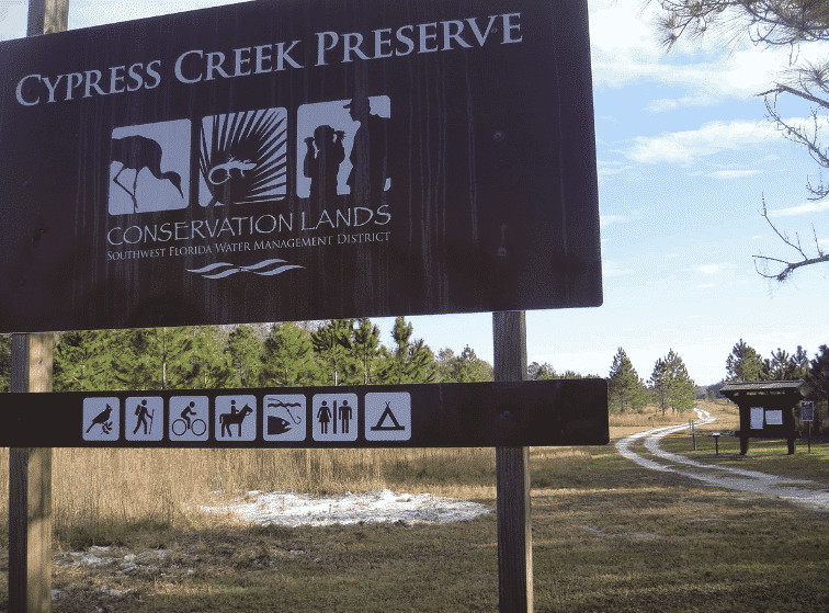 Camping in Florida - Cypress Creek Preserve