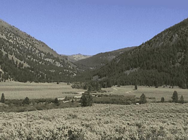Idaho Hiking Trails- Challis - North Fork Big Creek