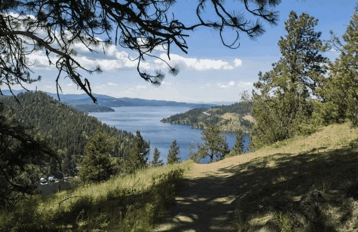 Idaho Hiking Trails- Coeur d'Alene - Mineral Ridge Loop