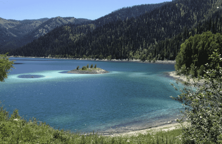 Idaho Hiking Trails- Swan Valley - Upper Palisades Lake