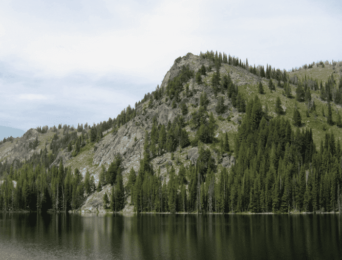 Idaho Hiking Trails- McCall - Louie Lakes Loop