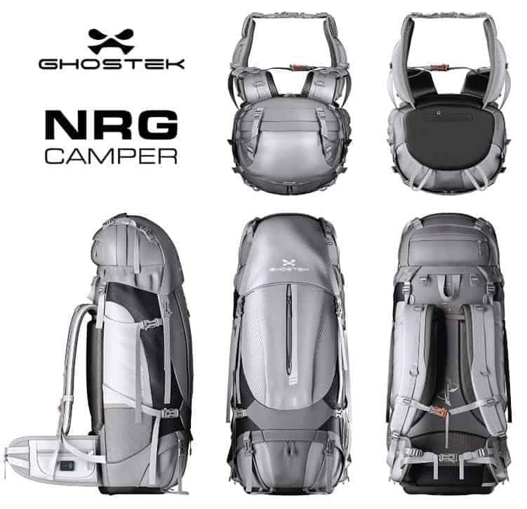 NRGcamper 60l Hiking Backpack