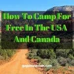 How To Camp For Free In The USA And Canada