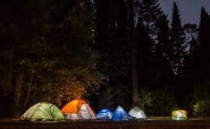 Camping For FREE In The US & Canada - free tents