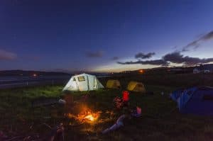 Camping For FREE In The US & Canada - Night time