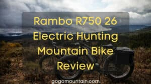 Rambo R750 26 Electric Hunting Mountain Bike Review