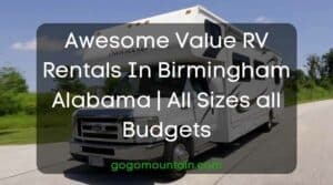 Awesome Value RV Rentals In Birmingham Alabama All Sizes all Budgets