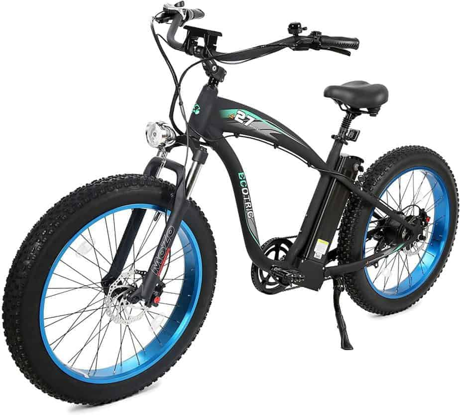 5 Best ECOTRIC Fat Tire Offroad Electric Mountain Bikes Review