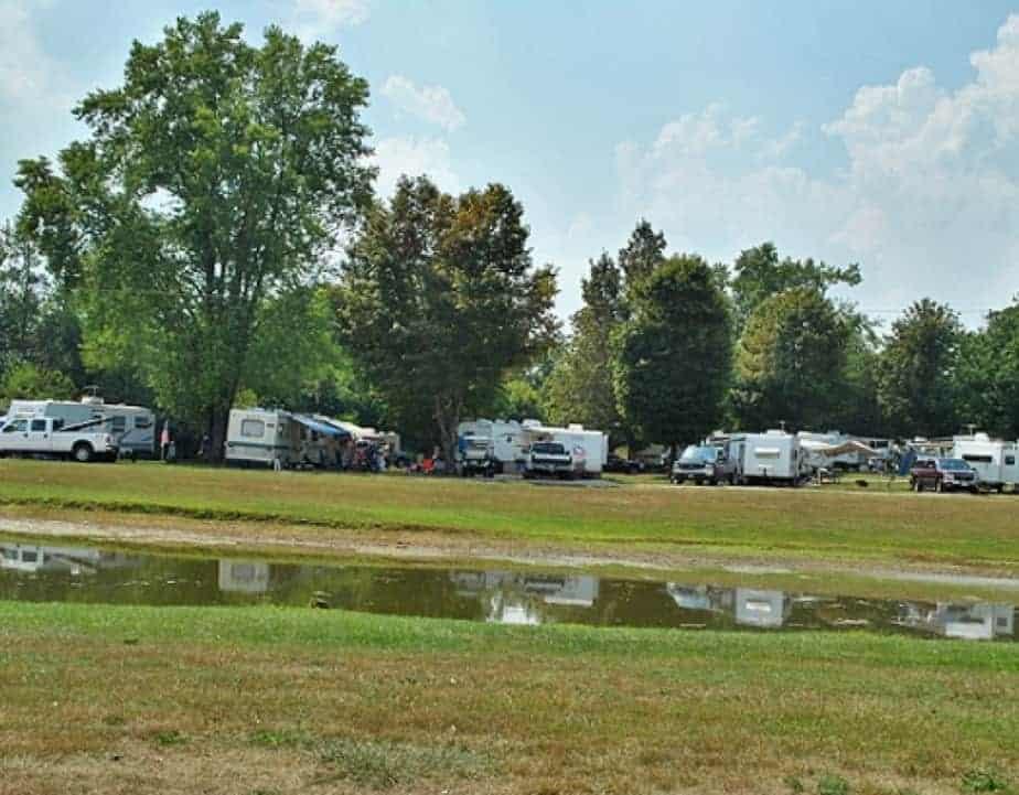 Best campsites ohio