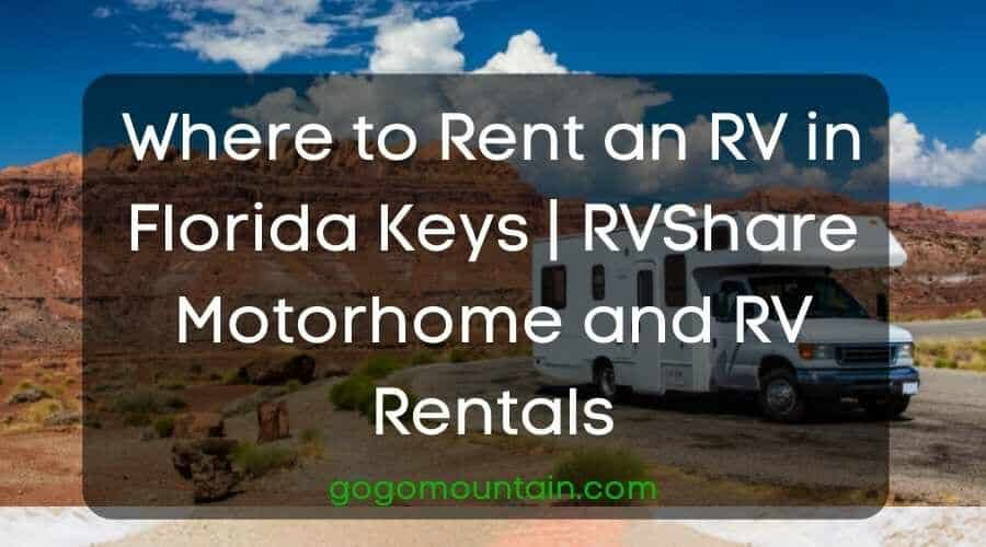Where to Rent an RV in Florida Keys RVShare Motorhome and RV Rentals