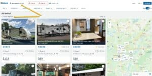 rv rentals in birmingham alabama