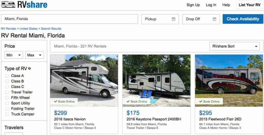 RVShare Review 2021 | Is It Safe to Rent an RV from RVShare