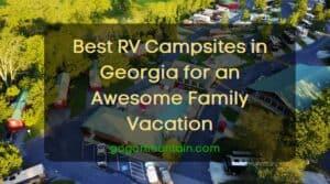 RV Campsites in Georgia