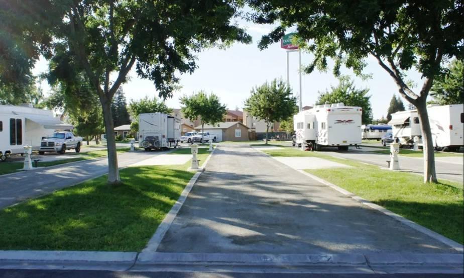 Campsites in California