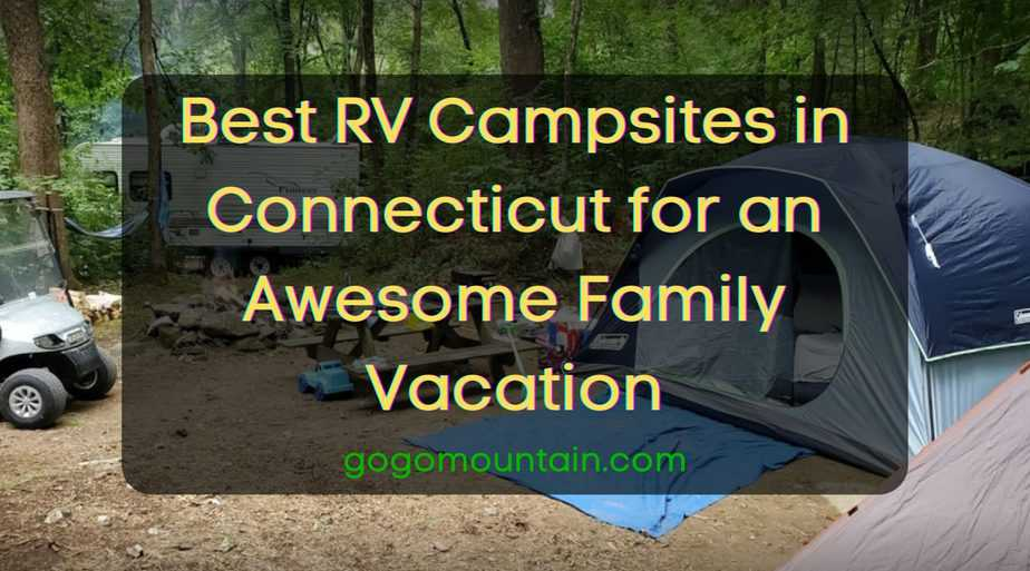 RV Campsites in Connecticut