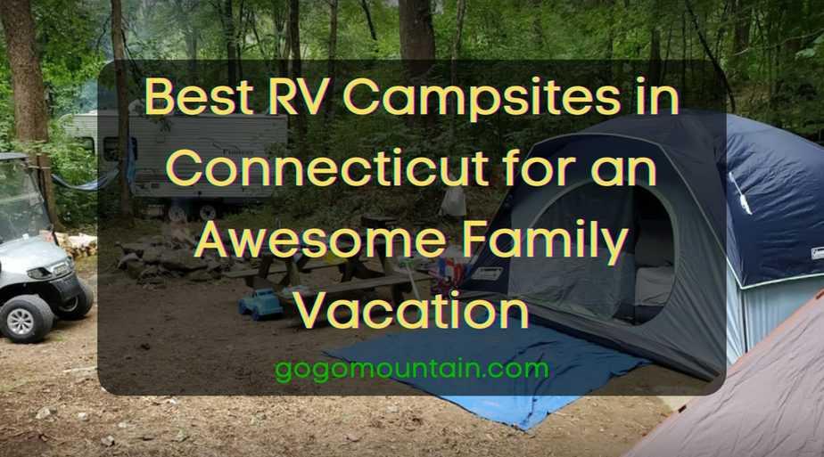 RV Campsites in Connecticut