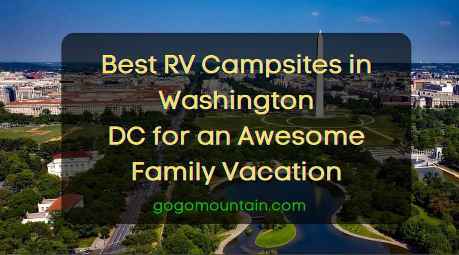 Campsites in Washington DC