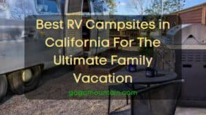 Campsites in California