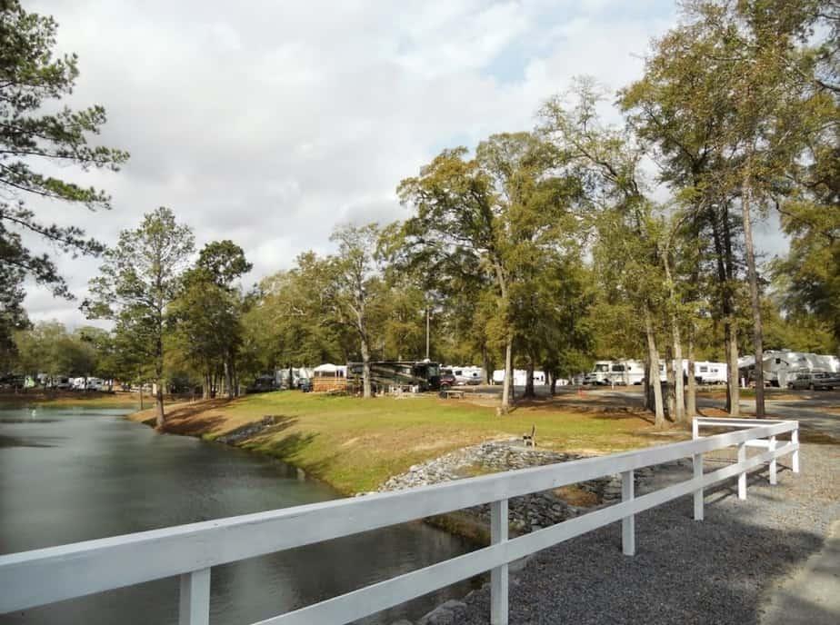 Campsites in Georgia