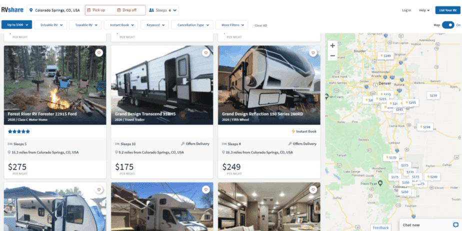 Luxury RV Rentals In Colorado