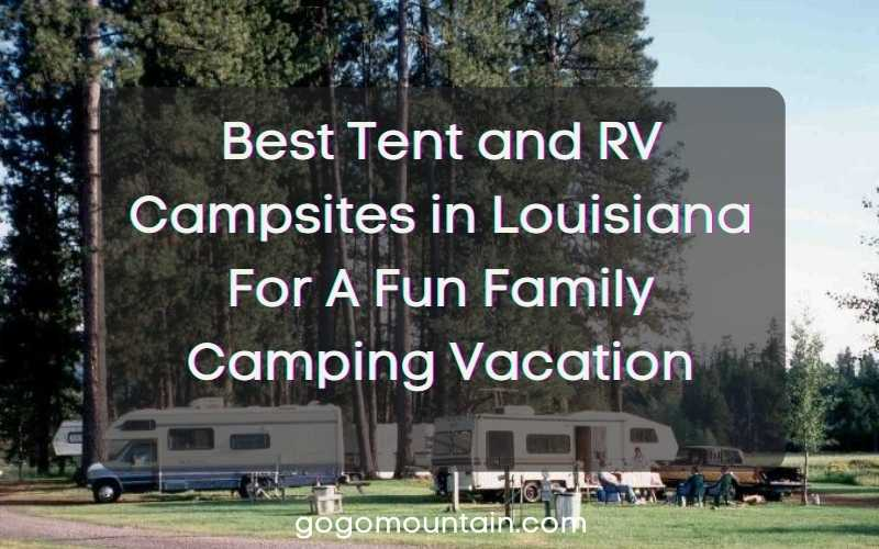 RV Campsites in Louisiana