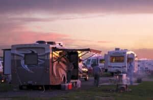 Luxury RV campsites in Missouri