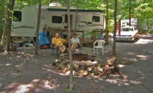 Top 5 Luxury RV Campsites In Maryland For A Fun Family Camping Vacation