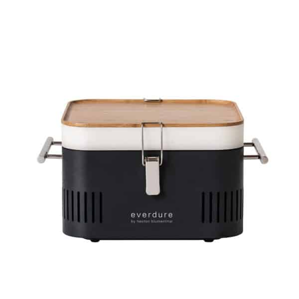 The Everdure Cube Portable Charcoal Barbecue