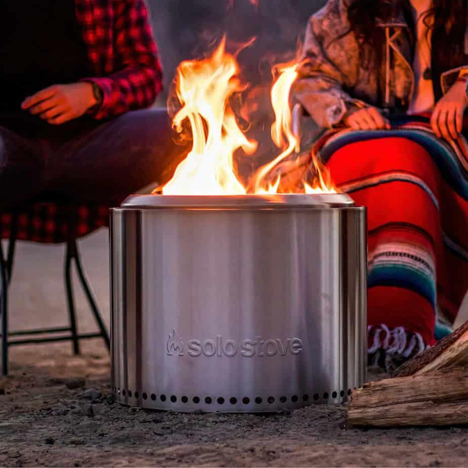 Solo Stove Yukon vs. Solo Stove Bonfire Comparison Review campfire