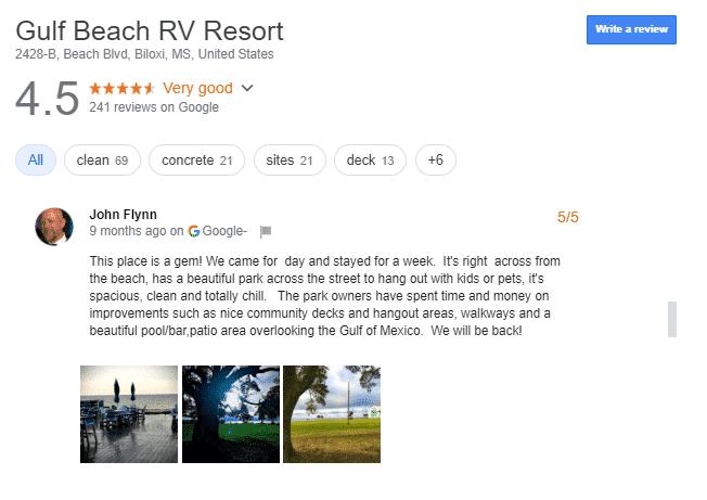 Luxury RV Campsites in Mississippi