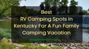Best RV Campsites in kentucky